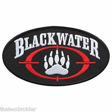 Blackwater Instructor Training Academi Military Security Iron on Patches #P002