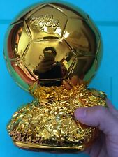 World Golden Ball Trophy Ballon D'OR Award Football Soccer Gold Souvenirs 21CM