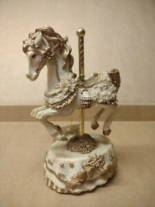 Heritage House Melodies County Fair Collection Carousel Hawaiian Wedding Song