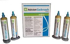 Pest Control Roach Killer Bait Gel ( Four 30g Tube ) Free Plunger + 2 Tips