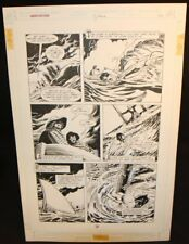 Legends of the Dark Knight #19 p.20 - LA - Batman Rescue art by Trevor Von Eeden Comic Art