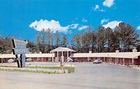 Chatsworth Georgia 1950s Postcard Colonial Pines Motel