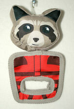 Marvel Comics GOTG Rocket Raccoon Dog Pull & Play Squeaky Oxford Toy New