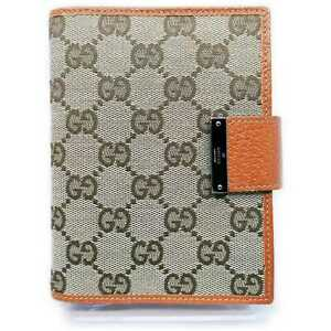 Gucci Diary Cover  Browns Canvas 914690