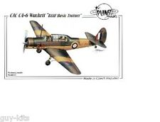 Avion Australien CAC CA-6 Wackett - Kit résine PLANET MODELS 1/48 N° 148