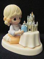 "New Disney Precious Moments #690003D~Cinderella ""A World of My Own""~Park Excl."