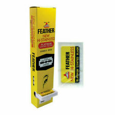 200 Feather Double Edge Safety Razor Blades Made in Japan