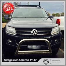 "Nudge Bar 3"" Stainless Steel Grille Guard BULL BAR Volkswagen Amarok 2011-2018"