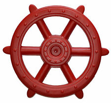 Pirate Ship Wheel RED NEW 48cm playground equipment cubby accessories toys