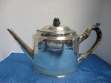 Antique 1794-95 English Peter & Ann Bateman UnMonogrammed Sterling Silver Teapot