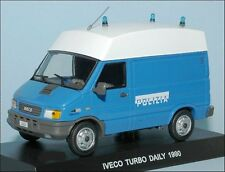 - Polizia Italia - IVECO TURBO DAILY - 1990 - 1/43 Police Polizei Polis