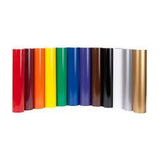 9 Rolls GLOSS Vinyl - Each 600mm x 8m Sticky Adhesive Sign Making Cutter Plotter