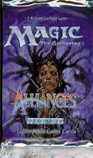 "MTG ALLIANCES BOOSTER PACK FREE SHIP ""LOWER PRICES"" Look for Force Of Will"