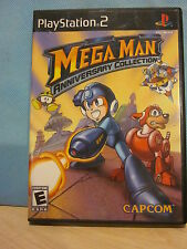 Sony PlayStation PS2 Mega Man Anniversary Collection Complete