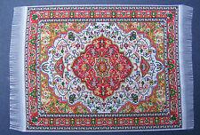 1:12 Scale 25cm x 17.5cm Woven Turkish Carpet Tumdee Dolls House Miniature P3L