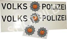 Aufkleber Volkspolizei für PKW