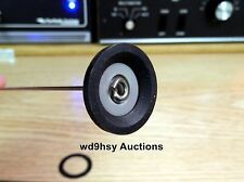 Replacement Whip for Motorola type NMO Chrome Nut 2 meter Tuned 1/4 Wave Antenna
