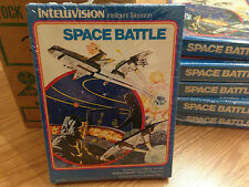 SPACE BATTLE -- for INTELLIVISION Video Game System FRESH CASE --  NOS - NIB