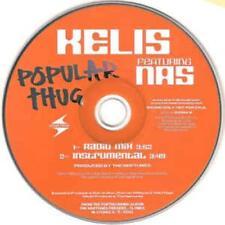 Kelis: Popular Thug PROMO MUSIC AUDIO CD Radio Mix Instrumental 53394-2 Arista