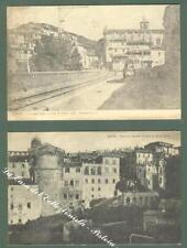 Lazio. CAVE, Roma. Due cartoline d'epoca viaggiate nel 1911 e nel 1914.