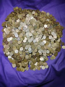2500 Mixed Forties Fifties Date 1940 - 1958 Lincoln Wheat Cents Pennies!! Lot 6