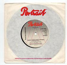 (U12) Burton Cummings, When A Man Loves A Woman - 1978 promo - 7 inch vinyl