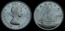 Canada 1958 10 Cent Piece Queen Elizabeth II MS-65
