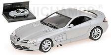 MERCEDES-Benz SLR McLaren 2004 Matt Silver Argento linea nicht L.E. 2010 1/43 NEW