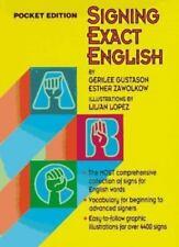 Signing Exact English: Pocket Edition