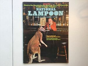 National Lampoon Issue 46 Vol 1 Attack of the Sizeable Beasts Kangaroo Bar 1973