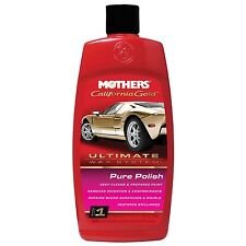 Mothers California Gold Pure Polish Ultimate Wax System Step 1 FREE UK P&P