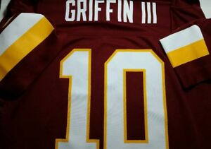 Redskins NFL Team Size Youth Large Robert Griffin III #10 Jersey (J007-BP)