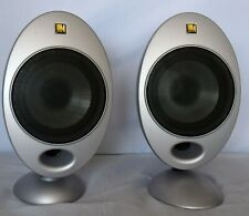 Kef HTS 2001 Surround Speakers one pair - two speakers - Silver 85G/54G