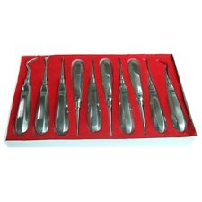 10*Stainless Steel Dental Elevators Extraction Surgical Instruments·High Quality