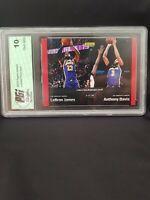 Lebron James Anthony Davis 1 of 78 Dual Red 19-20 NBA Panini Instant  LA Lakers