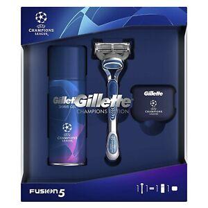 Gillette Fusion 5 Gift Set with Shaving Gel 75ml + Razor + Travel Case