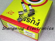 100Pcs 15A 15 Amp 250V 5 x 20mm Glass Tube Fuse Fast Blow