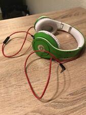 Beats by Dr. Dre Studio Headband Headphones - Green rare