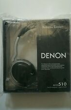 "Denon AH-D510 ""Acoustic Luxury"" Over-ear Headphones (Black)"