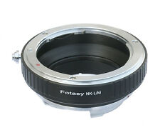 Nikon Lens to Leica M Mount Camera Adapter M6 M8 M7 M9 Ricoh GXR A12 US Seller