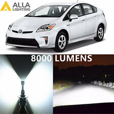 Alla Lighting Low Beam Headlight H11 LED Bulbs for 10~16 Toyota Prius/ Prius C/V