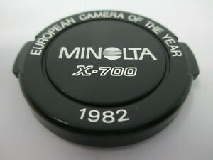 Minolta X-700 Camera Of The Year 1982 49mm Lens Cap