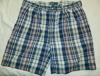 Polo Ralph Lauren Men's Blue Red Multi Tyler Short Size 38