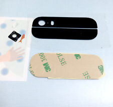 For iPhone 5 5G 5S New Back Cover Case Up and Down Edge Glass Replacement Part
