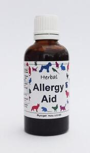 Phytopet Herbal Allergy Aid Remedy for Dogs/Cats/Small Pets - 50ml