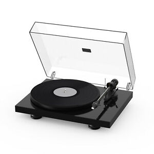 Pro-Ject Debut Carbon EVO Turntable With Sumiko Rainier MM Cartridge Gloss Black