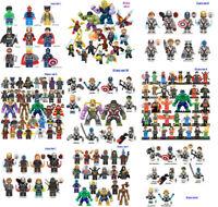 35pcs Marvel Super Heroes Avengers Infinity War Endgame Sets Builing Blocks Toys