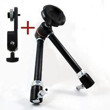 Manfrotto 244 Magic Arm mit Feststellkopf & 143BKT Kamerahalterung Kameraplatte