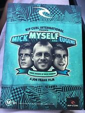 MICK MYSELF AND EUGENE : Three Shades Of Mick Fanning DVD All Region