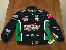 Vintage NASCAR Interstate Batteries Racing Jacket  Bob Labonte NWT Kids Size XL